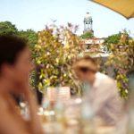 Hochzeitsfeier auf dem Hafen Deck Hamburg