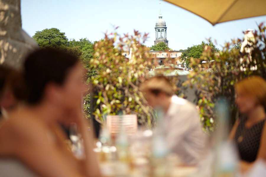Hochzeitsfeier Auf Dem Hafen Deck Hamburg Herzblut